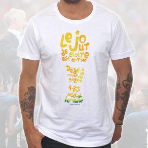 T-shirt Homme «Dédé faut l'empailler» : Trophée Coupe du Monde