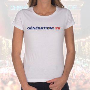 T-shirt Femme «Génération 98»