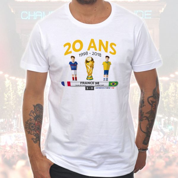 T-shirt Homme «20 ans»