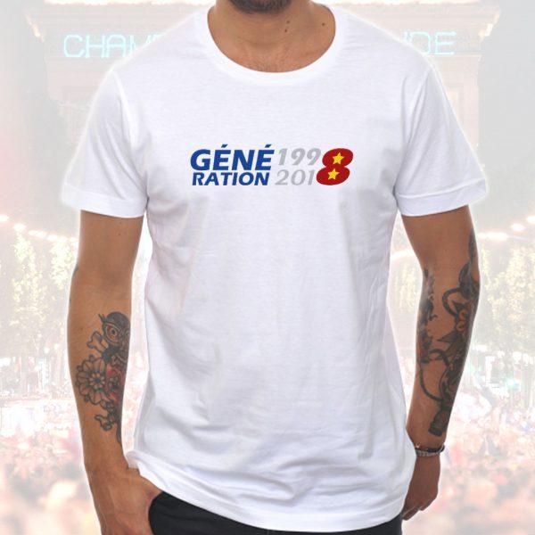 T-shirt Homme «Génération 1998-2018»