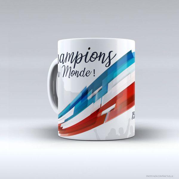 Mug «Champions du Monde» – 15 juillet 2018