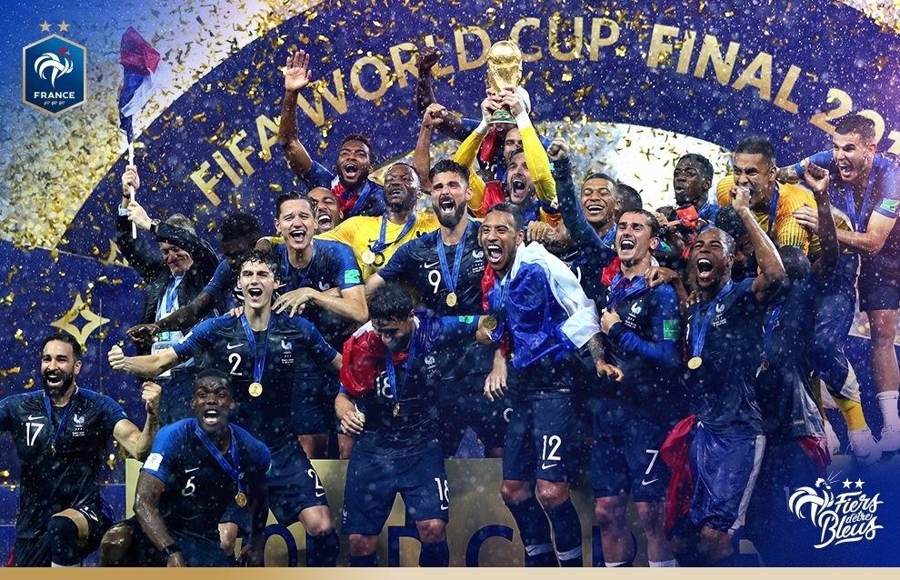 Championne du Monde 2018 !