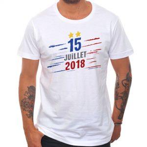 T-shirt Homme Génération 98 : «15 juillet 2018»